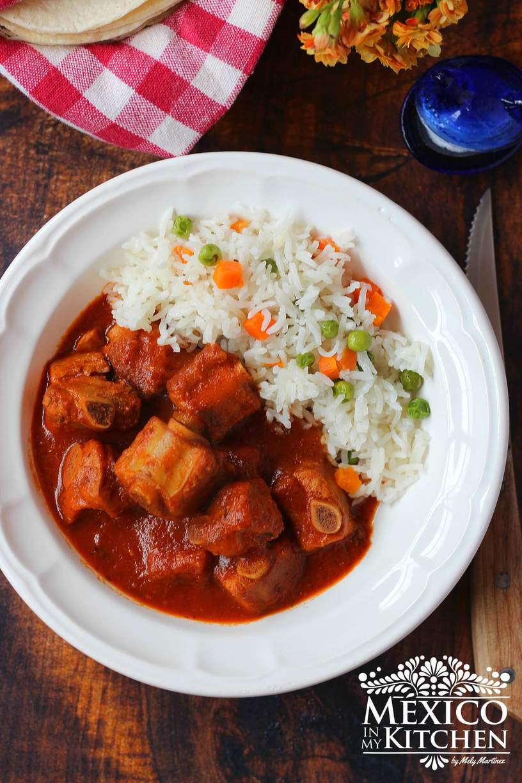 spicy pork short ribs