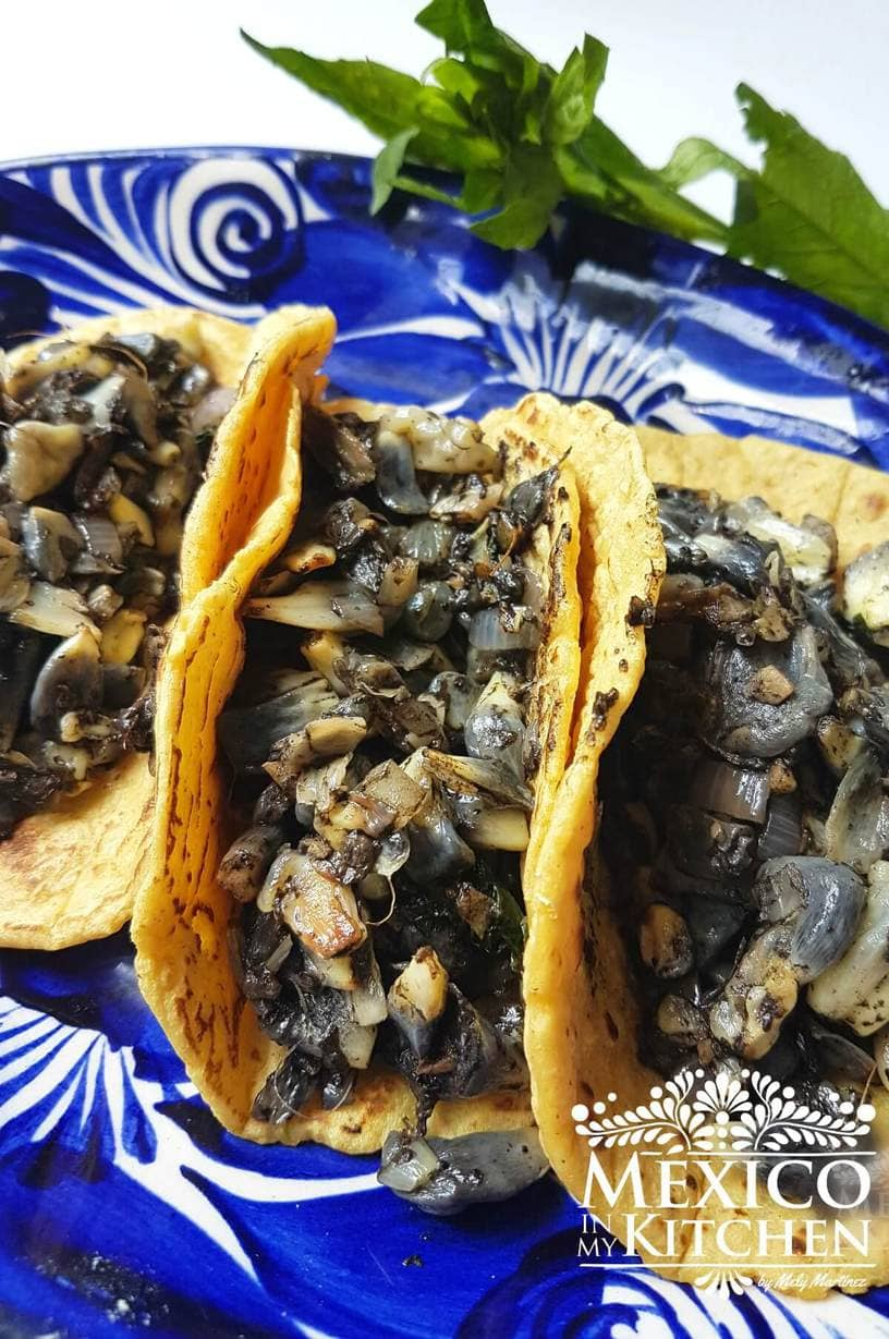 Huitlacoche Tacos