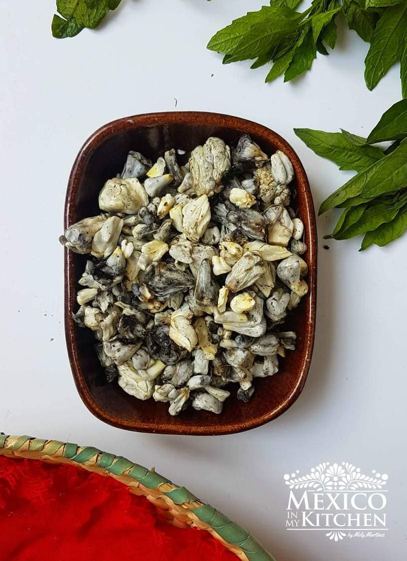 Fresh Huitlacoche Mexican corn smut