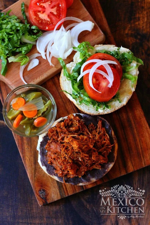 Pibil Style Sandwich