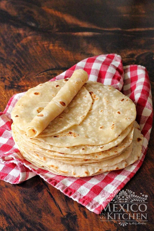 Homemade gifts flour tortilla recipe