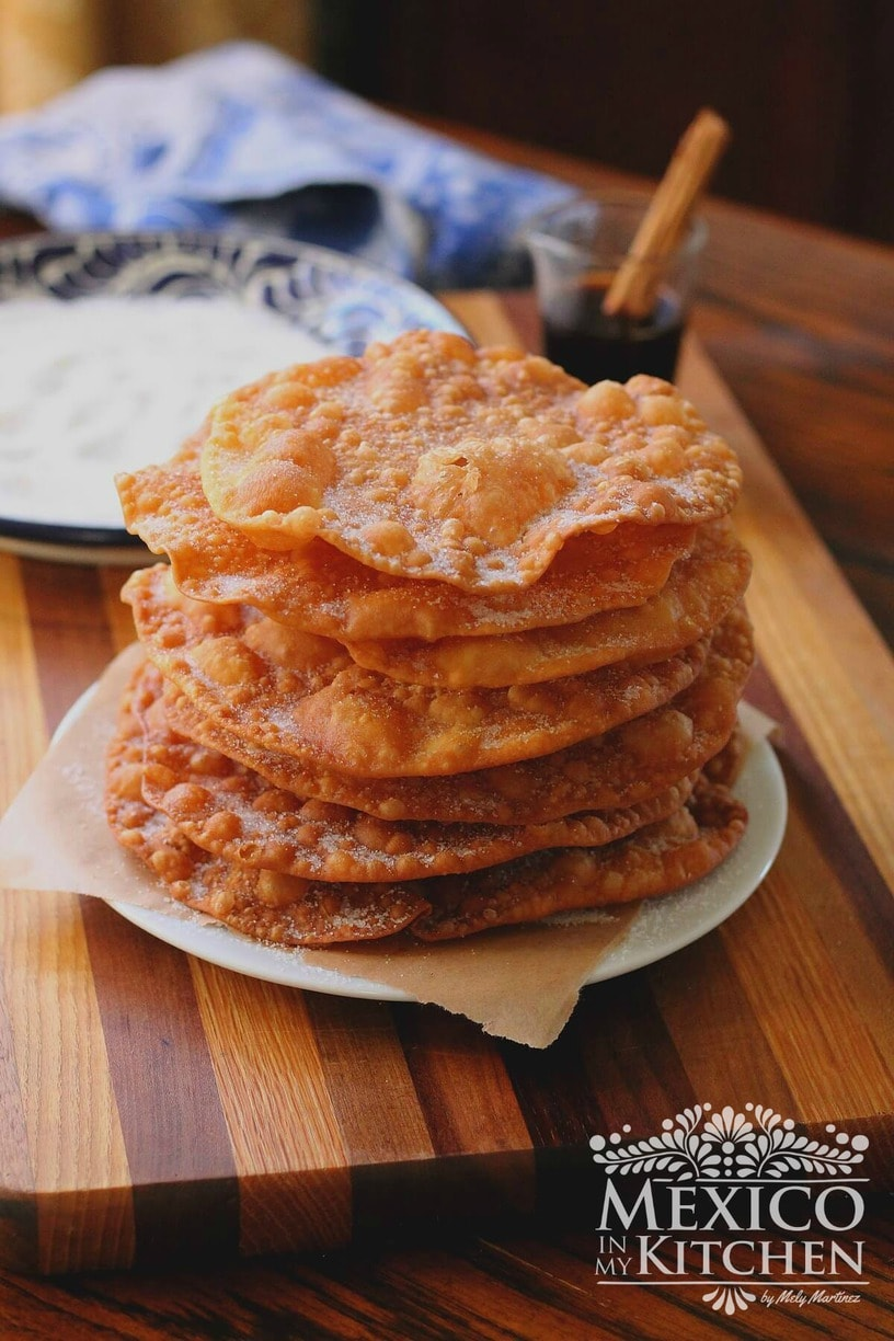Homemade gifts Mexican Buñuelos recipe