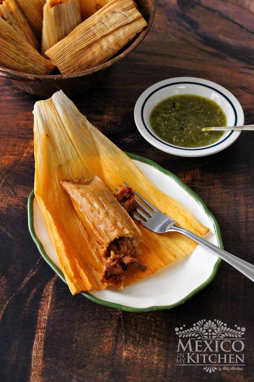 Homemade gifts Mexican Tamales
