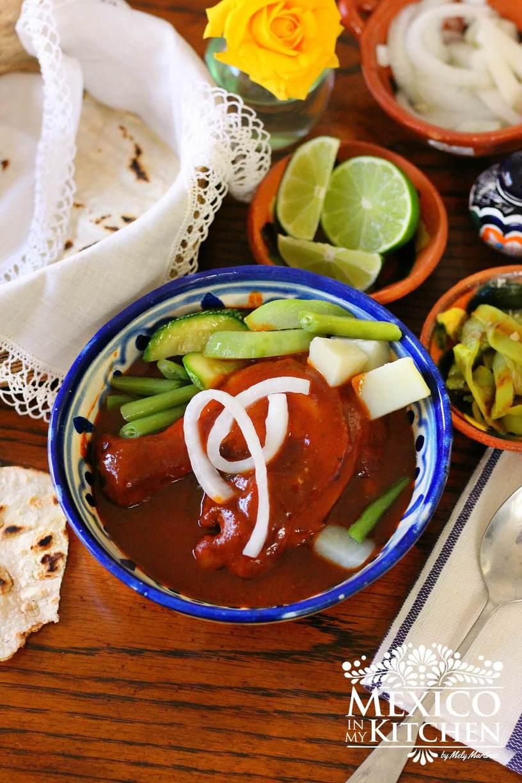 Mole Amarillo Oaxaca recipe